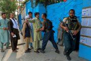 হামলা বিস্ফোরণের মধ্যে আফগানিস্তানে ভোট গ্রহণ