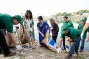 ইউরোপীয় ইউনিয়ন-গুলশান সোসাইটির উদ্যোগে লেক পরিচ্ছন্নতা অভিযান