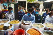 কুমিল্লার নিত্যপণ্যের বাজারে অভিযান, ৯০ হাজার টাকা জরিমানা