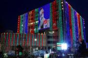 মুজিববর্ষে বর্ণিল সাজে রাজধানী