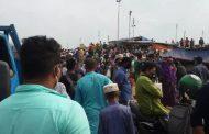 শিমুলিয়া-কাঁঠালবাড়ী রুটে আটকে পড়া ফেরী জাহাঙ্গীরকে চার ঘন্টা পর উদ্ধার, ফেরী চলাচলে বিঘ্ন