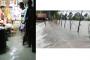বাঁধ ভেঙে তলিয়ে গেছে পটুয়াখালীর বিস্তীর্ণ এলাকা