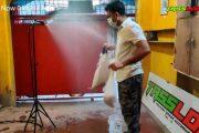 বাংলাদেশের উদ্ভাবক বানলো স্বয়ংক্রিয় করোনা প্রতিরোধক স্প্রেয়ার