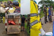 হালুয়াঘাটে গুলিতে নিহত বাংলাদেশী যুবকের লাশ তিনদিন পর হস্তান্তর করলো বিএসএফ