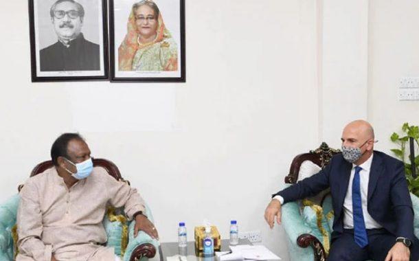 'তুরস্কের সঙ্গে বাংলাদেশের বাণিজ্য বৃদ্ধি পাচ্ছে'